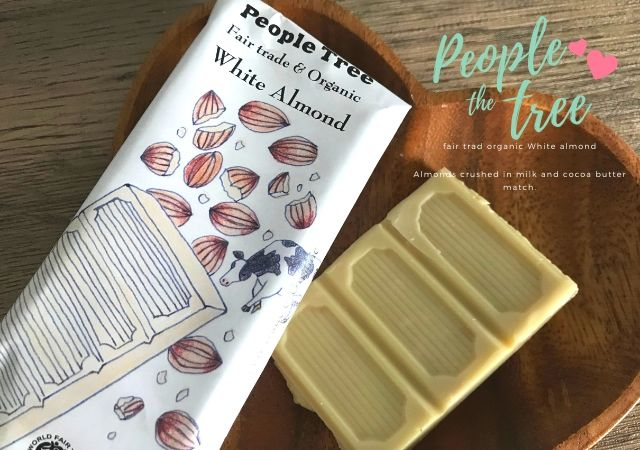 ピープルツリー  ホワイトチョコレート