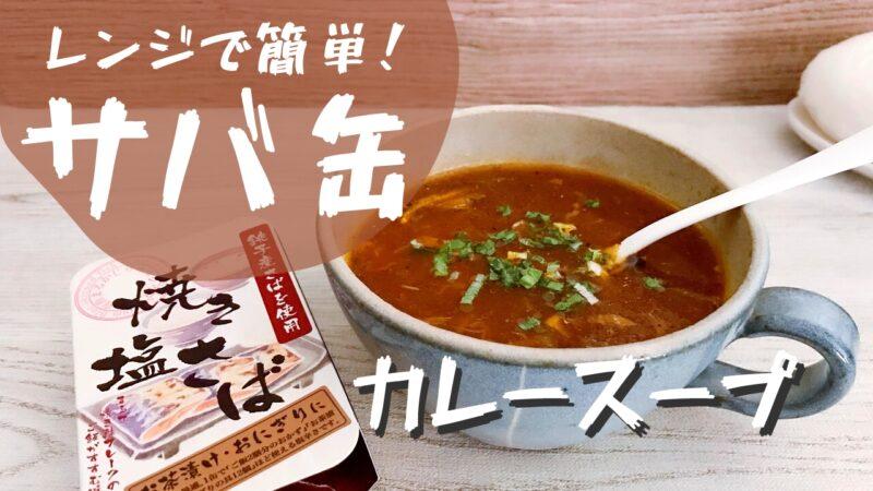サバ缶カレースープ