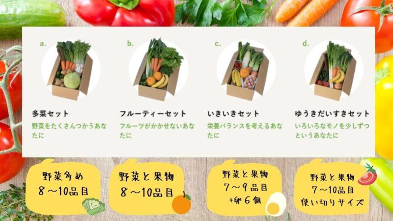 ビオマルシェ 選べる 野菜セット 種類