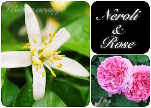 ネロリ&ダマスクローズの香り