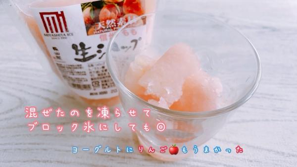 ブロックアイス氷ミックス味